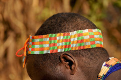 Bead work in tanzania Stock Image