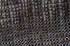 Beaded background Royalty Free Stock Photo