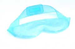 Beaded blue eye mask Stock Photography