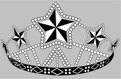 Beaded crown Royalty Free Stock Photography
