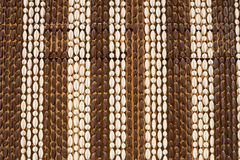 Beaded curtain background Stock Photography