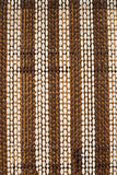 Beaded curtain Royalty Free Stock Image