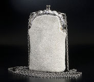 Beaded evening bag Royalty Free Stock Image