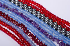 Beaded jewelry Stock Images