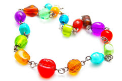 Beaded necklace Stock Photography