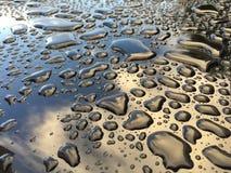 Beading νερού στο όχημα Στοκ Φωτογραφία