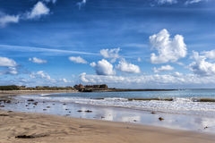 Beadnell Beach Royalty Free Stock Photos