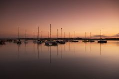 Beadnell Harbour Royalty Free Stock Images