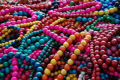 Beads. Is a national item. It is traditional for people, who live in rural areas. It can be always found on annual country fair Stock Images