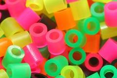 Beads. Closeup of beads royalty free stock photos