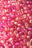 Beads. Close-up of different colored beads Stock Photos
