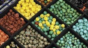 Pryder med pärlor Arkivbild