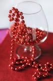 beads bägarered Arkivbilder