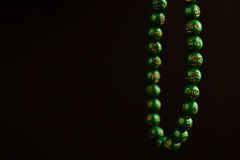 beads bönen Arkivbilder