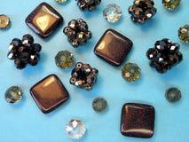 Beads background Royalty Free Stock Image
