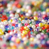 Beads background Stock Image
