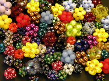 Beads background royalty free stock images