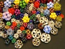 Beads background Stock Photo