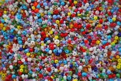 Beads background Stock Photography