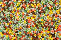 Beads background Stock Images