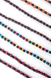 Beads background Royalty Free Stock Photography