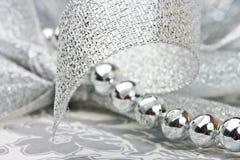 beads bandsilver Fotografering för Bildbyråer