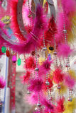Beads Bangles Feathers Chinese New Year Head Gear Stock Images