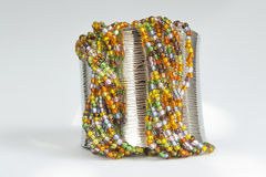 Beads bracelet Stock Images