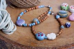 Beads  bracelet Stock Photo