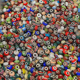 Beads for bracelets Stock Photography