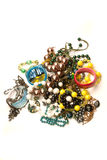 Beads and bracletes Stock Images
