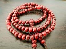 beads buddist Arkivbild