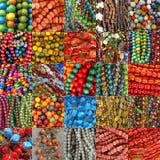 beads collagesamlingar Royaltyfri Bild