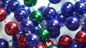 Beads, Costume Jewelry. Stock video of beads, jewelry stock video
