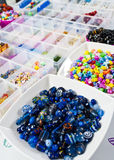 Beads for Craft Jewellery Stock Photo
