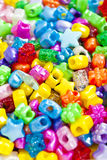 Beads for Craft Jewellery Royalty Free Stock Photos