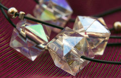 Beads-crystals Royalty Free Stock Photos