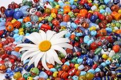 beads den färgrika tusenskönan Royaltyfri Fotografi