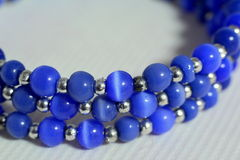 beads det dyrbara halsbandet Royaltyfri Fotografi