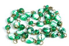 beads det handgjorda halsbandet Royaltyfri Bild