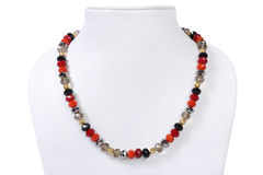 beads det indiska halsbandet Royaltyfri Fotografi