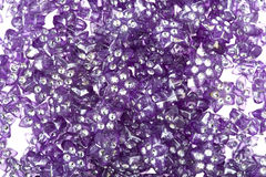 Beads for embroidery macro Stock Photos