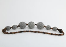 beads executed in the African style Royalty Free Stock Photo