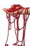 beads exponeringsglas royaltyfri foto