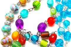 beads exponeringsglas Arkivfoton