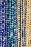 beads färgrika halsband royaltyfria bilder