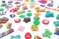beads färgrikt Arkivbilder