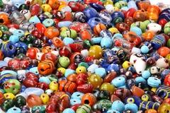 beads färgrikt Royaltyfria Foton