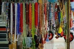 beads färgrikt Fotografering för Bildbyråer