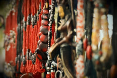 beads färgrikt Royaltyfri Fotografi